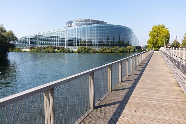 Europaparlament. Strassburg, Frankreich.