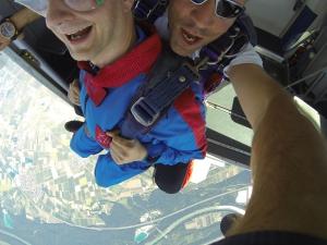Fallschirmsprung 18.7.2014