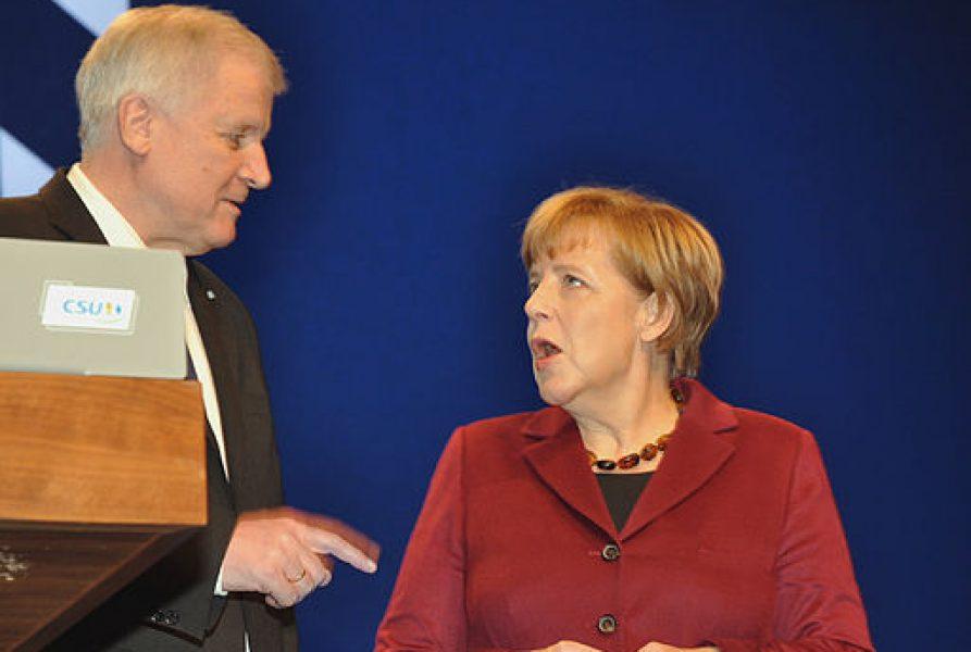 Merkel und Seehofer streiten um neue Flüchtlinge